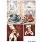 Декупажная карта А4 Cook, Base of Art new (Россия)