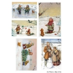 Декупажная карта А3 Winter 4, Base of Art new (Россия)