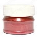 Порошок металлик красный для патинирования и затирки кракелюр, 5 гр, Daily ART