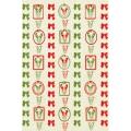 """Бумага для декопатч 608 """"Рождественские мотивы"""", Decopatch (Франция), 30х40 см"""