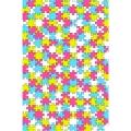"""Бумага для декопатч 624 """"Пазлы"""", Decopatch (Франция), 30х40 см"""