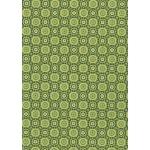 """Бумага для декопатч 643 """"Орнамент зеленый"""", Decopatch (Франция), 30х40 см"""