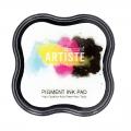 Штемпельная подушка пигментная Pigment Ink Pad DOA550106, цвет белый, Docrafts (Великобритания)