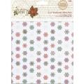 Веллум, пергаментная бумага для скрапбукинга First Noel, 10 листов, 15,2х15,2см, 5 дизайнов, Papermania
