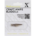 Набор запасных сменных лезвий для макетного ножа №1 арт. XCU 255100, 5 шт., HCUT