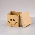 Заготовка коробка картонная Смайлик, 7,5х7,5х7 см, EFCO Германия