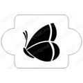 "Трафарет пластиковый EDMD080 ""Большая бабочка 1"", 10х10 см, Event Design"