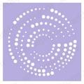 Трафарет маска фоновый EDMF018, Event Design, 15х15 см