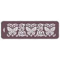 Трафарет бордюр EDTMB010 Бабочки,10х32 см, Event Design