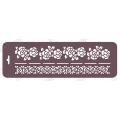 Трафарет бордюр EDTMB012 Розы, 10х32 см, Event Design