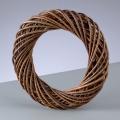 Заготовка венок декоративный плетеный, неочищенные ивовые прутья, 15 см, EFCO (Германия)