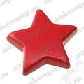 """Кнопки для скрапбукинга """"Звездочки"""" красный, 8 мм, 25 шт., Knorr prandell (Германия)"""