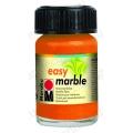 Краска для марморирования Easy Marble Marabu 013 оранжевый, 15мл