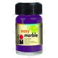 Краска для марморирования Easy Marble Marabu 039 баклажан, 15мл