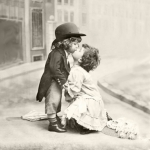 "Салфетка для декупажа SVD2054 ""Поцелуй"", 33х33 см, Sagen Vintage Design, Норвегия"