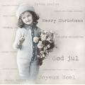"""Салфетка для декупажа SVD80039 """"Счастливого Рождества!"""", 33х33 см, Sagen Vintage Design, Норвегия"""