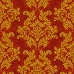 """Салфетка для декупажа SLOG001801 """"Орнамент красный с золотом"""", 33х33 см"""
