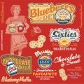 """Салфетка для декупажа SLOG036601 """"Реклама сладостей"""", 33х33 см, POL-MAK"""