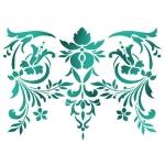 "Трафарет пластиковый KSG358 ""Орнамент"", 21х29,7 см, Stamperia (Италия)"