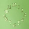 Цифры для часов деревянные арабские LAZ-25-117, 25 мм, фанера, Россия