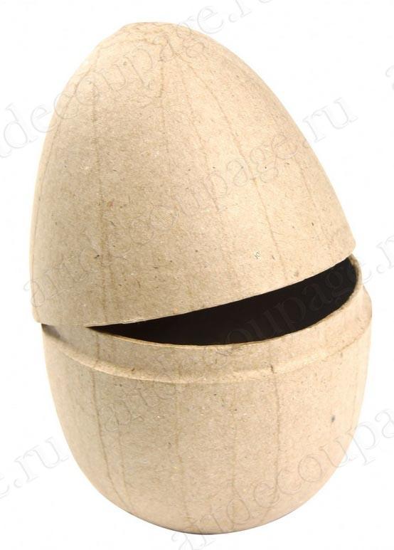 Фигурка для декопатча из папье-маше Яйцо пасхальное разъемное