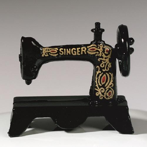 Декоративная миниатюрная Швейная машинка для кукольных миниатюр