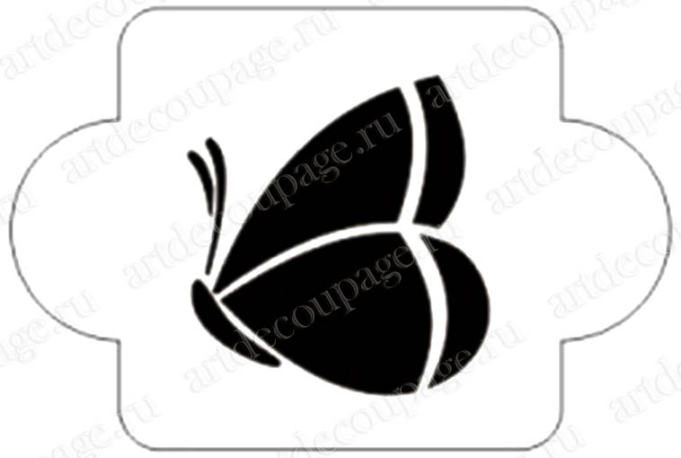 Трафареты Большая бабочка, Event Design