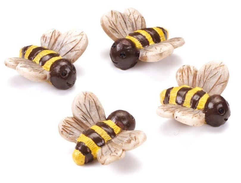 """Миниатюрные фигурки для обемного декора и скрапбукинга """"Пчёлы"""", купить"""
