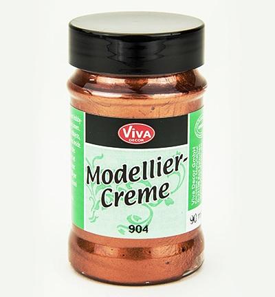 Моделирующий крем паста для стекла бронза, Viva Decor Modellier Creme 903