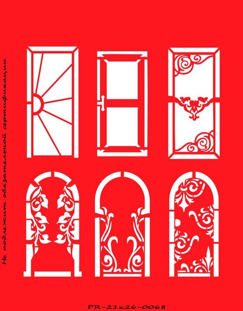 Трафареты для декора своими руками шаблоны на двери 24