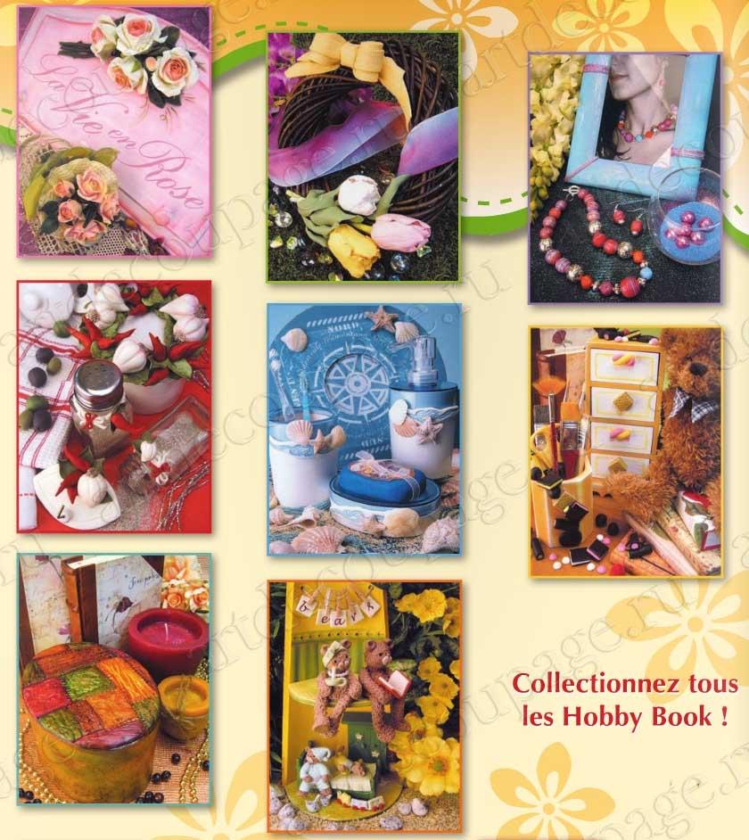 """Журнал """"Hobby Book"""" № 21 Stamperia объемное моделировыние из полимерной глины"""