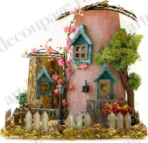 Миниатюрные предметы для объемных композтций и кукольных миниатюр, купить