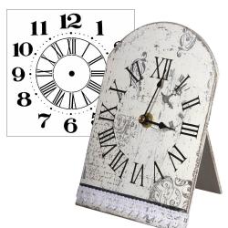 Заготовки для декупажа часов: стрелки, часовые механизмы