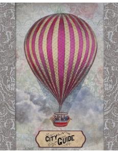 "Бумага для 3D декупажа, ""Воздушный шар"" 23х30 см, 300 г/м2, Stamperia"
