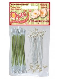 Тычинки для изготовления цветов 120 шт., Stamperia