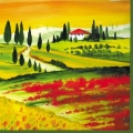 "Салфетка для декупажа ""Тоскана"", 33х33 см, Голландия"