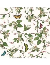 """Салфетка для декупажа """"Рай для бабочек"""", 33х33 см, Голландия"""