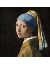 """Салфетка для декупажа """"Девушка с жемчужной сережкой"""", 33х33 см, Голландия"""