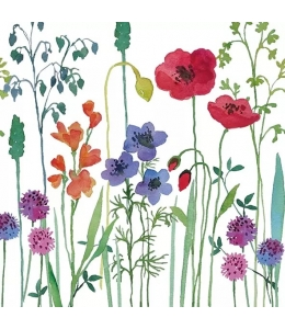 """Салфетка для декупажа """"Луговые цветы"""", 33х33 см, Голландия"""