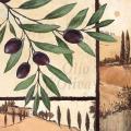 """Салфетка для декупажа """"Оливковая ветка"""", 33х33 см, Голландия"""