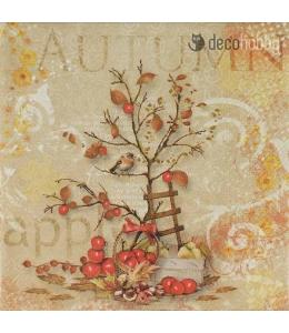 "Салфетка для декупажа ""Осенний натюрморт"", 33х33 см, Голландия"
