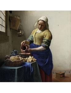 "Салфетка для декупажа ""Молочница, Ян Вермеер"", 33х33 см, Голландия"