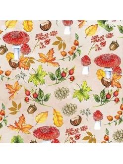 Салфетка для декупажа Осенние дары, 33х33 см, Голландия