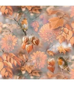 """Салфетка для декупажа """"Оранжевая осень"""", 33х33 см, Голландия"""