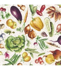 """Салфетка для декупажа """"Овощи"""", 33х33 см, Голландия"""