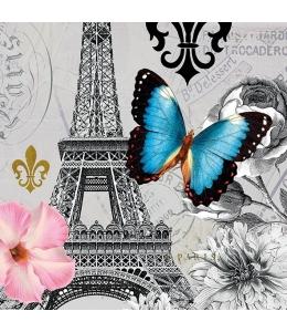 "Салфетка для декупажа ""Потрясающий Париж"", 33х33 см, Голландия"