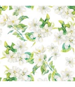 """Салфетка для декупажа """"Цветы яблони"""", 33х33 см, Голландия"""