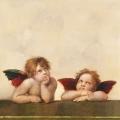 "Салфетка для декупажа ""Два ангела"", 33х33 см, Ambiente (Голландия)"