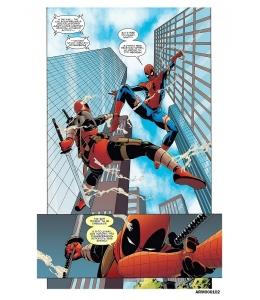 Рисовая бумага для декупажа Комиксы - Человек паук, А4 Россия