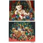 Рисовая бумага для декупажа Новогодние игрушки, А4 АртДекупаж Россия